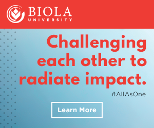 Biola University: Challenging each other to radiate impact. Find out more.